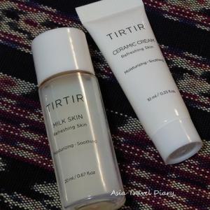 ミルクスキンをお試し&お買い物してみました@ TIRTIR(ティルティル)