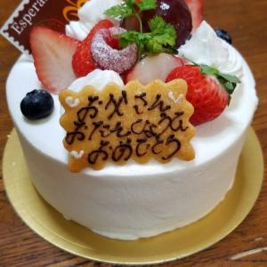 とーちゃんの誕生日