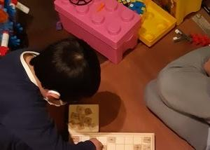 少年ががんばっていること(6歳)