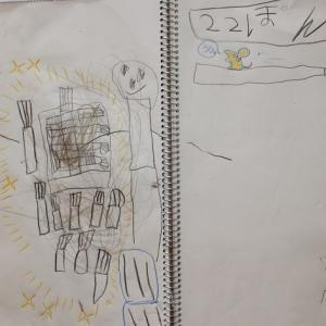 0mx39:6歳6ヵ月⑧ 魔女のホウキ(昨日・今日・明日)