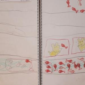 0MX66:5歳8カ月⑤ とにかくお絵描きが大変らしい