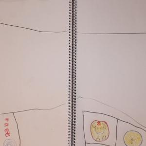 0MX19:5歳8カ月⑥ 答えは出たけど、絵は省略しまくりです