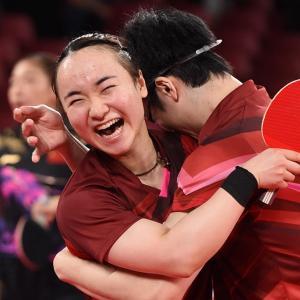 【海外の反応】水谷隼、伊藤美誠ペアが卓球で日本史上初の金!「信じられない逆転劇」