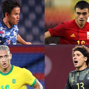【海外の反応】五輪男子サッカーのベスト4が出揃う!「全てのチームが優勝候補だ」