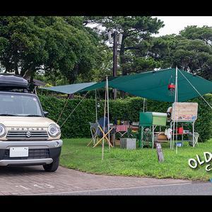 vlog城南島海浜公園オートキャンプ場でデイキャンプ【前編】