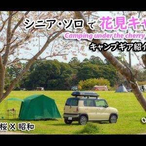 vlog 森のまきばで花見キャンプ