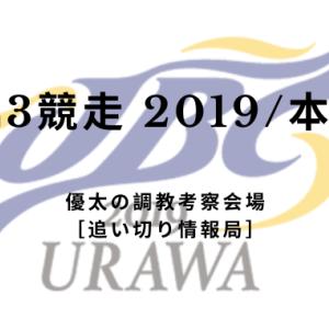 【JBC3競走 2019/本命馬】