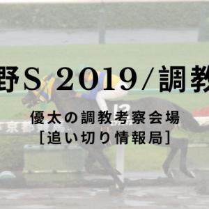 【武蔵野S 2019/調教考察】
