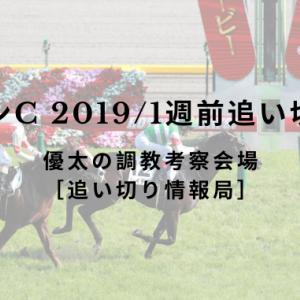 【ジャパンC 2019/1週前追い切り評価】