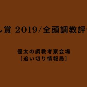 【ローレル賞 2019/全頭調教評価】