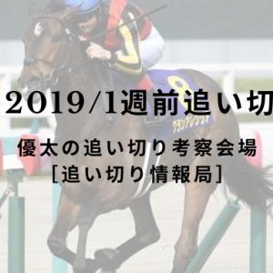 【阪神C 2019/1週前追い切り評価】