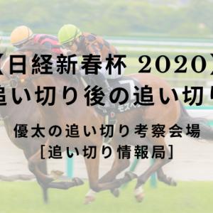 【日経新春杯 2020】最終追い切り後の追い切り考察