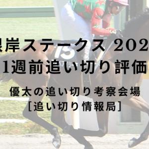 【根岸ステークス 2020】 1週前追い切り評価