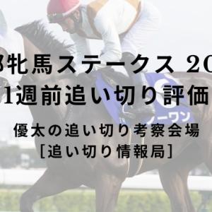 【京都牝馬ステークス 2020】 1週前追い切り評価