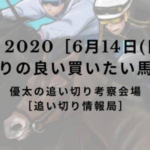【平場 2020[6月14日(日)]】追い切りの良い買いたい馬リスト