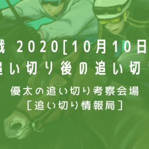 【新馬戦 2020[10月10日(土)]】最終追い切り後の追い切り考察
