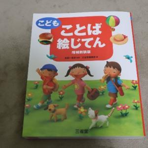 三省堂『こどもことば絵じてん』を購入。1歳児も楽しめる内容だけど、購入前に知っておいた方が良い点あり。