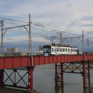 阪堺線大和川橋梁