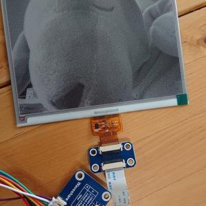 中1息子くん電子ペーパーで遊ぶ - JetsonNanoとRaspberry Pi