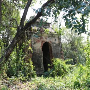 ワットサムジン(วัดสามจีน・Wat Sam Jin)/ アユタヤ北部の田園地帯の中、他では見ない珍しい中国式?のチェーディー(仏塔)が残る遺跡