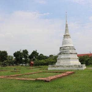 ワットカーミン(วัดขมิ้น・Wat Khamin)/ 1767年のアユタヤ王朝滅亡時、ビルマ軍の侵入を許した要塞近くにあった仏教寺院