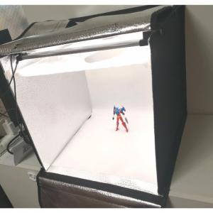 折りたたみ撮影ボックス「SAMTIAN 40×40×40cm」レビュー 調光器・LED照明セットでよりプロ寄りな写真撮影が可能に