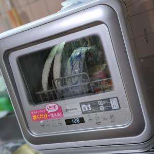 【アイリスオーヤマ KISHT-5000-Wレビュー】工事不要で洗浄力も申し分ない癒し系食器洗い乾燥機