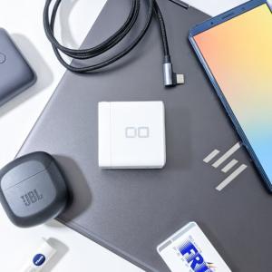 CIOのLilNob Shareをレビュー。65Wの4ポート充電器が「卵サイズ」で。