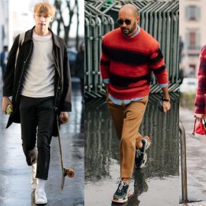 【2018秋冬メンズ】クロップドパンツコーデ|旬な男は9分丈パンツを着こなす