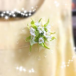 春のブローチ蕗の薹