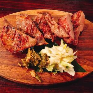 くまポンで牛タンを堪能 ~渋谷 牛の舌