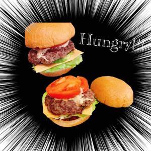 手作りハンバーガーと画像加工アプリ
