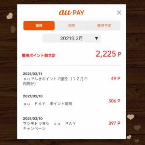 マツキヨでau Payを使うと20%Pontaポイント還元な上にマツキヨアプリを使ってさらに得をしました