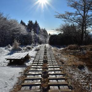 雪の丹沢主脈へ #3