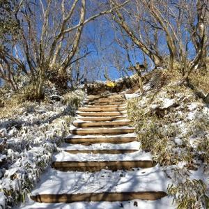 雪の丹沢主脈へ #4