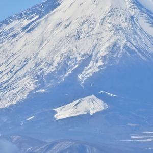 雪の塔ノ岳山頂より #2