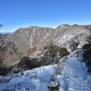 雪と霧氷の丹沢主脈を行く #1