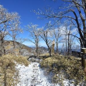 雪と霧氷の丹沢主脈を行く #2