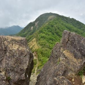 鬼ヶ岩から蛭ヶ岳へ