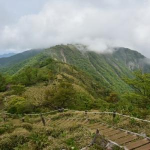 蛭ヶ岳から不動ノ峰へ