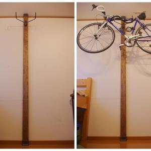 ディアウォールでロードバイクを2年間壁掛けした感想と現状【欠点は2つ】