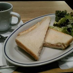 エクセルシオールカフェ 『ハムチーズサンドプレート』