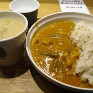 スープストックトーキョー 『バターチキンカレー、京湯葉とちりめん山椒の豆乳スープ』