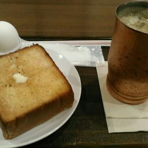 上島珈琲店 『ゆで卵&厚切りバタートースト』