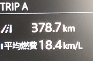 CX5 燃費報告 #4 松代PAにて久々のフルサービス