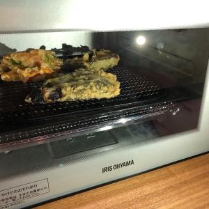 【スーパーのお惣菜の天ぷらがサクサクに!】アイリスオーヤマ ノンフライ熱風オーブンを使ってみました。