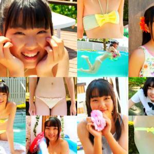 将来は絶対に美女になる顔立ちのジュニアアイドル河合真由! まゆ日和DVD情報