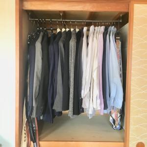 奥行の深い押し入れはこう使っています。衣類の収納に大活躍