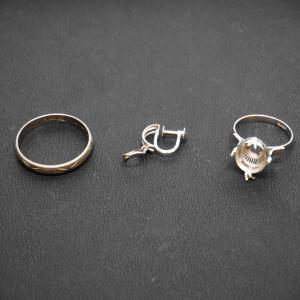 貴金属(プラチナ製のリング、イヤリング)をお買取致しました☆上野芝向ヶ丘町、堺買取センター