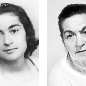 【誰にも若い時はある】若い頃と今を同じポーズで比較した写真集